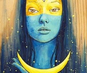 moon and art image