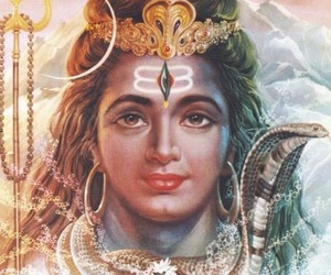 gods, head, and hinduism image
