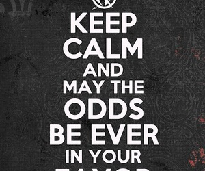 the hunger games and keep calm image