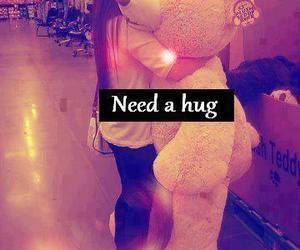 hug, bear, and teddy bear image