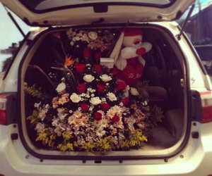 amazing, bouquet, and cars image