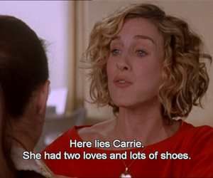 shoes, carrie, and Carrie Bradshaw image