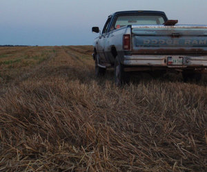 car, dodge, and farm image