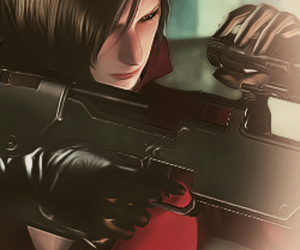 resident evil and adawong <3 image