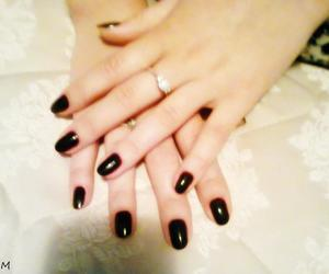 nails, love, and blody color image