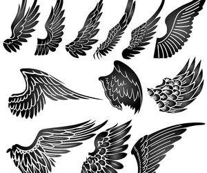 model tattoo wings 1 image