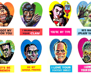 monster, valentine, and Dracula image