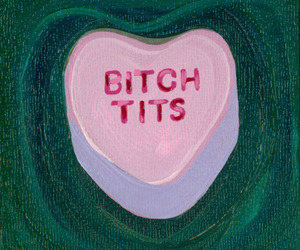 candy heart, valentine, and bornandraised image