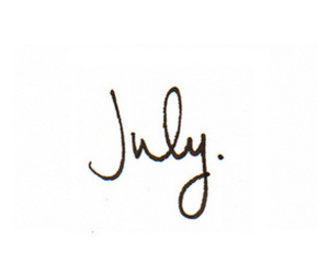 july, text, and background image