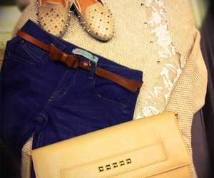 bracelet, pant, and style image