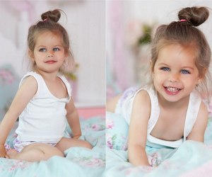baby, beauty, and eyes image