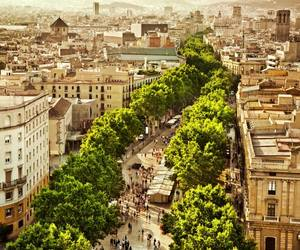 Barcelona, beautiful places, and buildings image