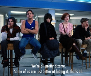 Breakfast Club, quote, and movie image