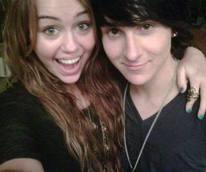 miley cyrus and mitchel musso image