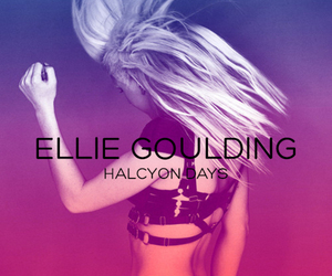 Ellie Goulding, music, and halcyon days image