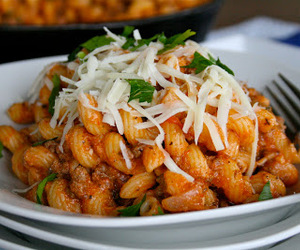 basil, food, and pasta image