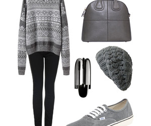 clothes, grey, and Polyvore image