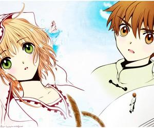 anime, sakura, and shoran image