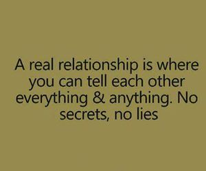 lies, Relationship, and love image