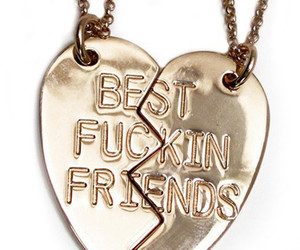 best friends, jewels, and necklace image