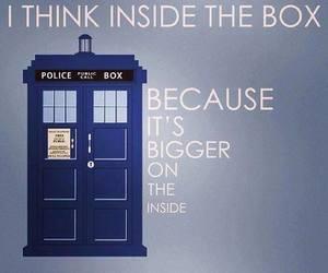 doctor who, tardis, and box image