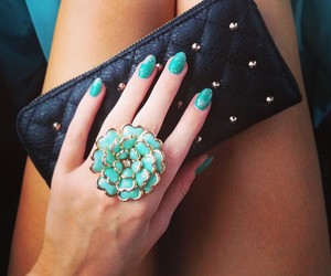girl, jewerly, and nails image
