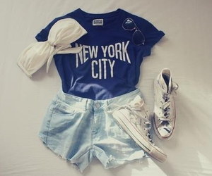 city, fashion, and new york image