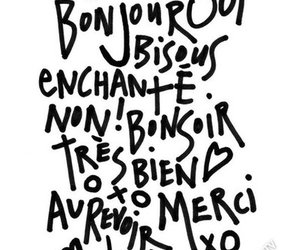 french, hello, and words image