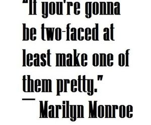 quotes, Marilyn Monroe, and pretty image