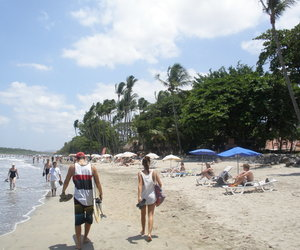 beach, costa rica, and crazy image