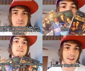 alex gaskarth, all time low, and pirates of the caribbean image