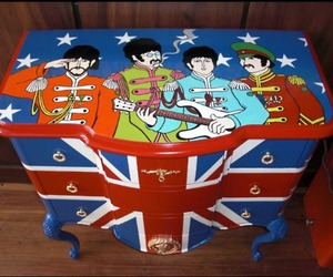 dresser, the beatles, and yellow submarine image