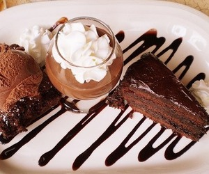 cake, cool, and chocolate image