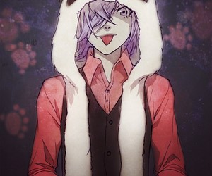 anime, panda, and un-go image