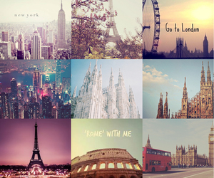 travel, cities, and london image