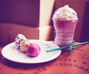 starbucks, sweet, and pink image