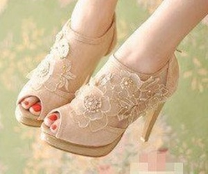 flower, pretty, and shoes image