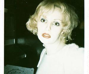 Candy Darling, mapplethorpe, and polaroid image
