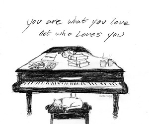 Lyrics, fall out boy, and piano image