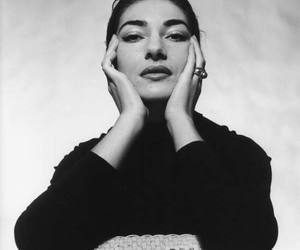 cecil beaton, maria callas, and black and white image