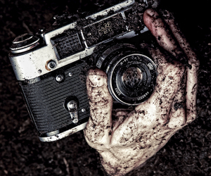 camera, dirt, and old image