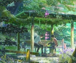 kotonoha no niwa and anime image