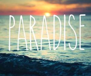 coldplay, paradise, and summer image