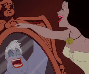 the little mermaid, disney, and ursula image
