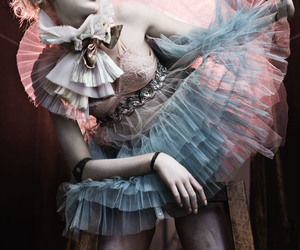 doll, tutu, and pink image