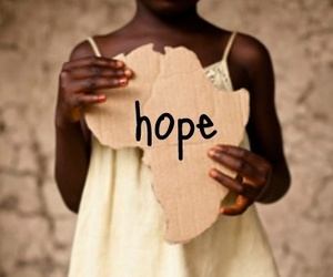 africa and hope image