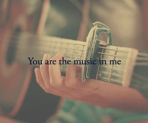 music, love, and guitar image