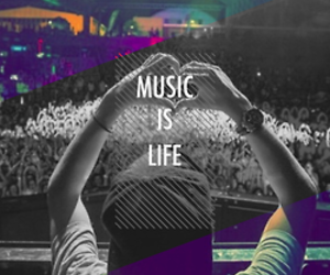 life, music, and love image