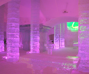 art, ice, and pink image