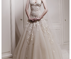 wedding dress, Couture, and dress image